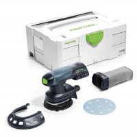 Festool akumulatora ekscentriskā slīpmašīna ETSC 125-Basic